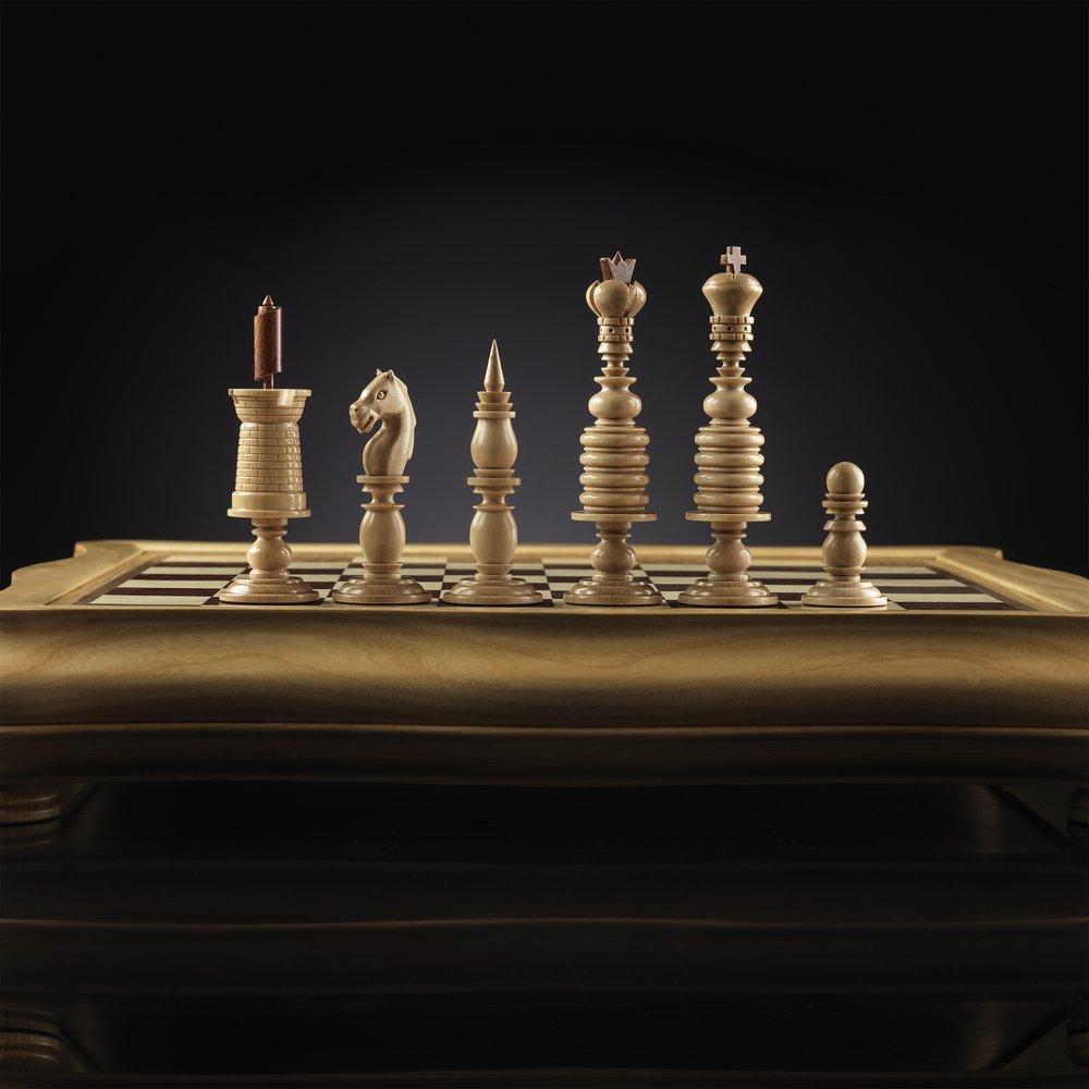 Шахматы мазарини фото