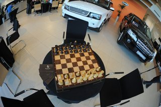 Auto Range Rover IV и KADUN chess authentic.
